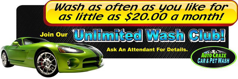 Unlimited Carwashes